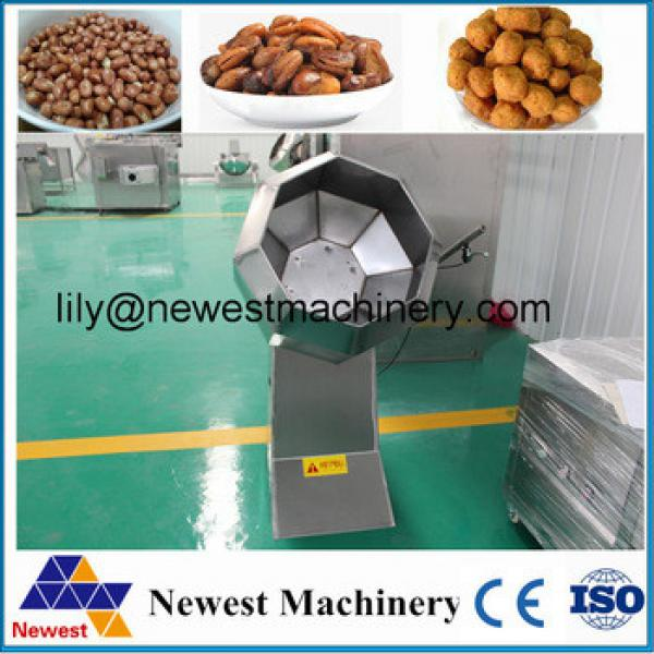 Direct factory offer home use small size potato chips making flavoring machine chocolate coating machine