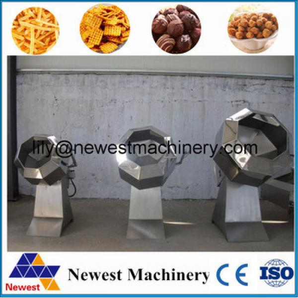 Easy operation full automatic snack nuts potato chips making flavoring machine