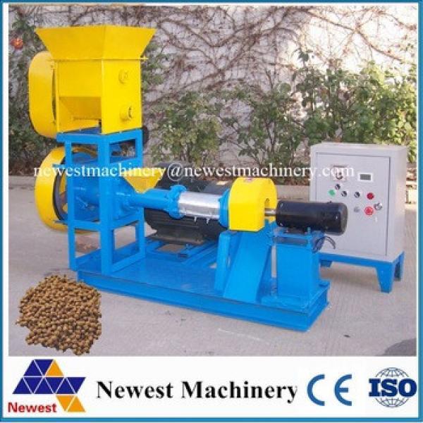 Hot sale sinking fish pellet/dog/cat/fish food machinery/animal feed pet chewing making machine