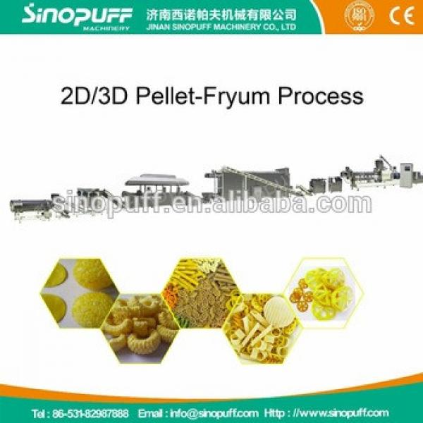stainless steel industrial potato chips processing machine