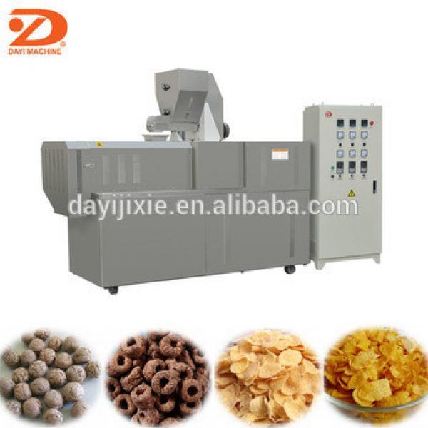 Jinan Dayi Double Screw Extrusion Snacks Breakfast Cereals Machine