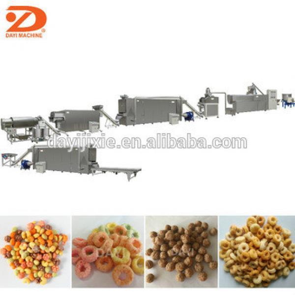Corn Flakes Machine/cereal breakfast making machines/sweet corn processing machines