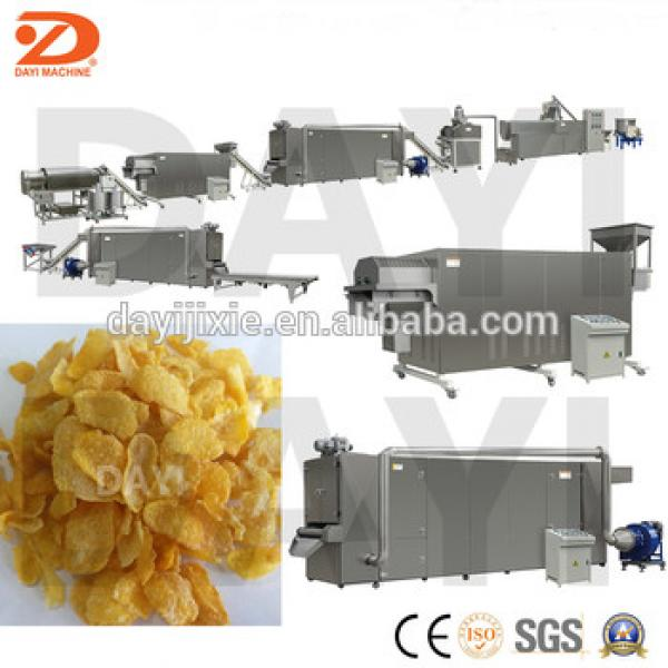 China Famous Breakfast Cereals Corn Flakes Making Machine Manufacturer