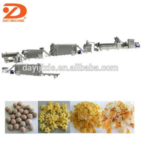 Breakfast Cereal Puffed Corn Flakes Production Machinery