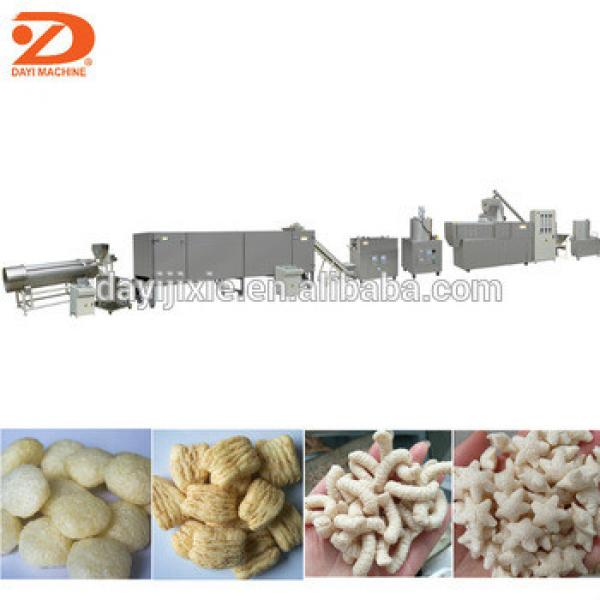 corn puff snack extruder machinery from Jinan Dayi