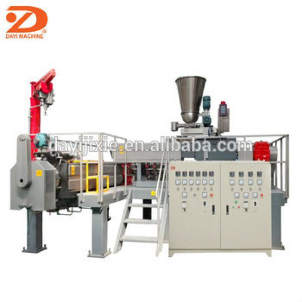 Dayi full automatic fried 2d 3d pellet chips processing line frying pellet food machine