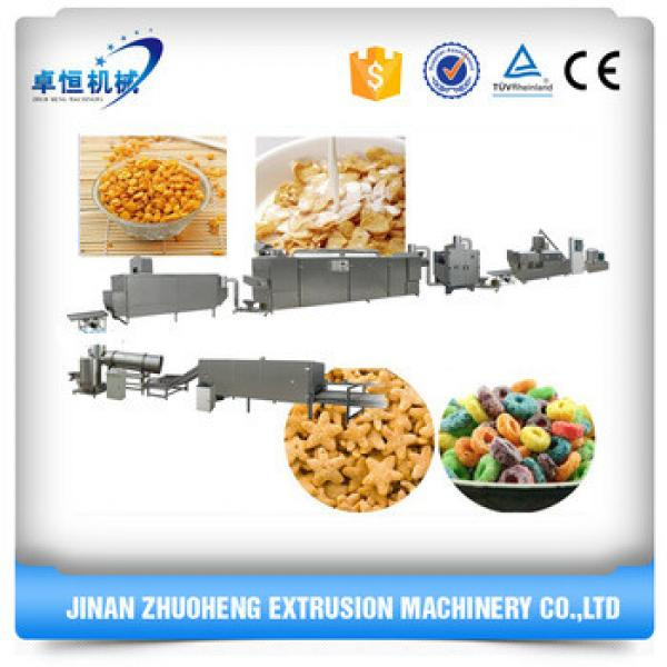 Good quality multifuctional Corn Flakes Breakfast Cereal Making Machine
