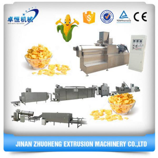 Small Bakery Kellogg's corn flakes production manufacturing machinery