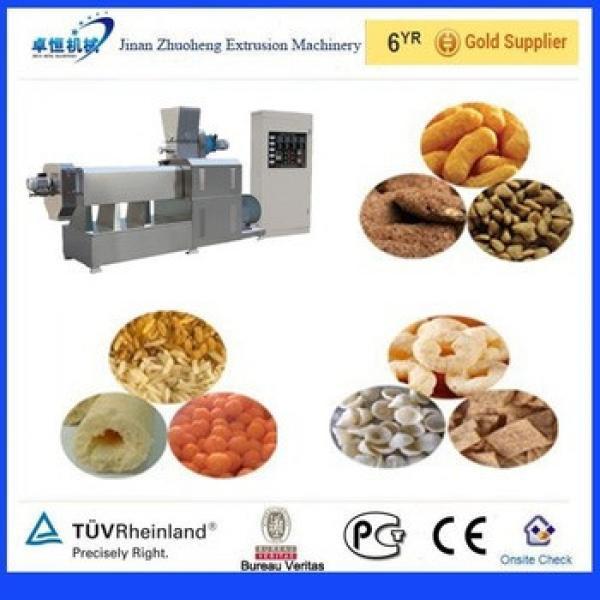 Economic high quality hot sale puffed corn snacks making machine