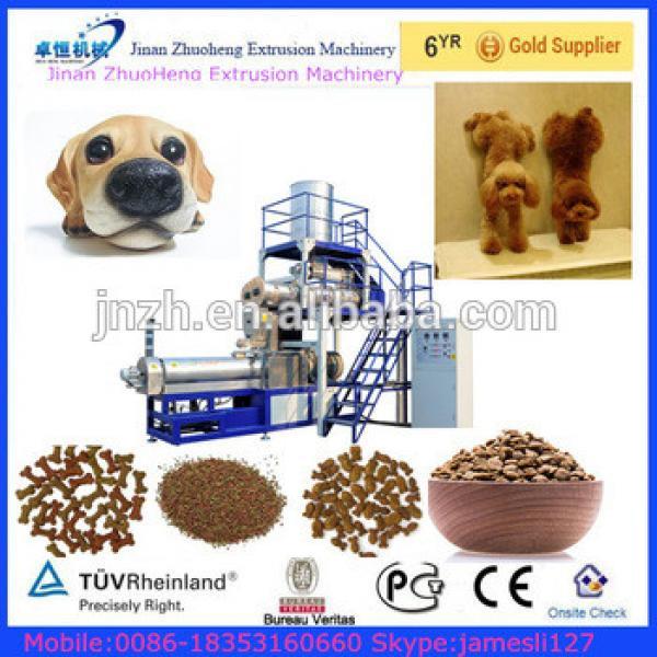 dog cat chews food making machine