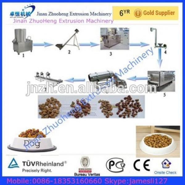 Multi-functional Dry Dog Food Making Machine/pet Food Production Line/ Dog Food Processing Line