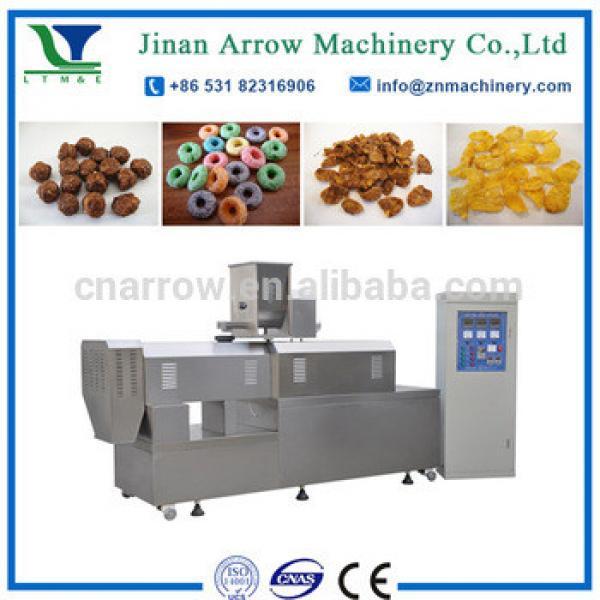 crispy corn flakes rice breakfast cereals machinery