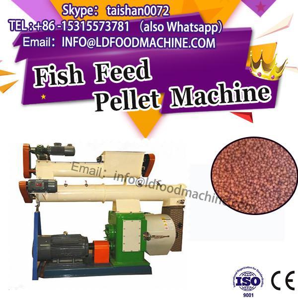 New designed floating fish feed pellet machine