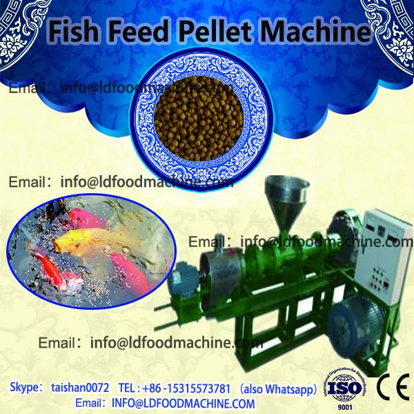 Different size floating fish feed pellet machine