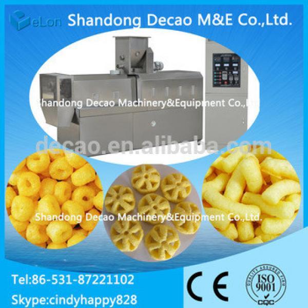 100-150kg/h breakfast cereals cheerios snacks machine