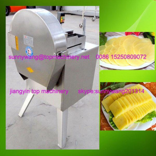 automatic potato chips making machines / potato spiral chips cutting machine