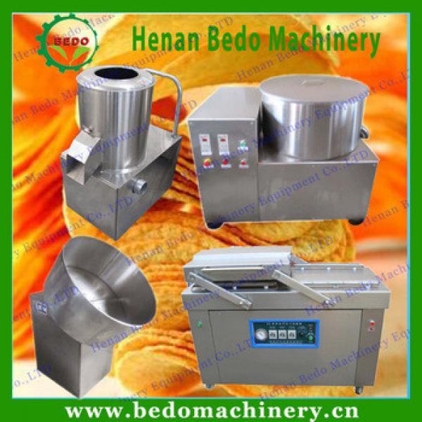 Small Scale Potato Chips Production Line / Automat Potato Chips Making Machine Price Reasonable /Home Fresh Potato Chips Machine