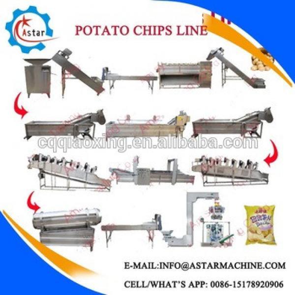 Semi-automatic French Fries Making Machine/Potato Crisps Sticks Making Line