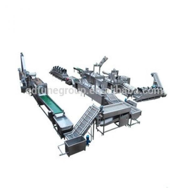 semi-automatic potato chips making machine/ frozen french fries production line