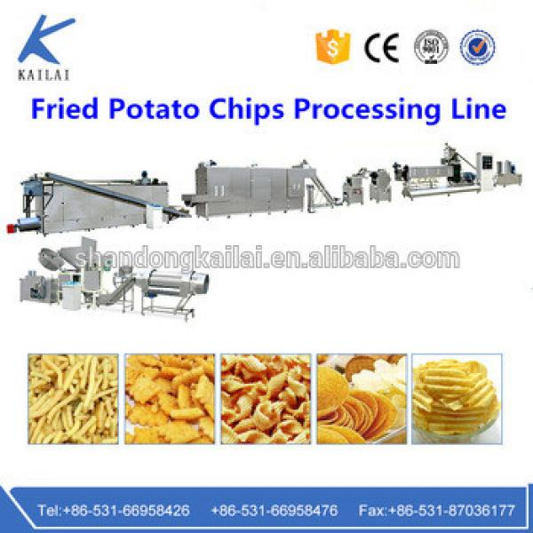 China Automatic High Quality CE ISO Potato Chips Making Machine