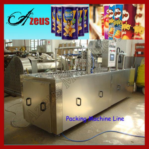 Best Sell Popular Snack Pringles Automatic Potato Chips Making Machine Price