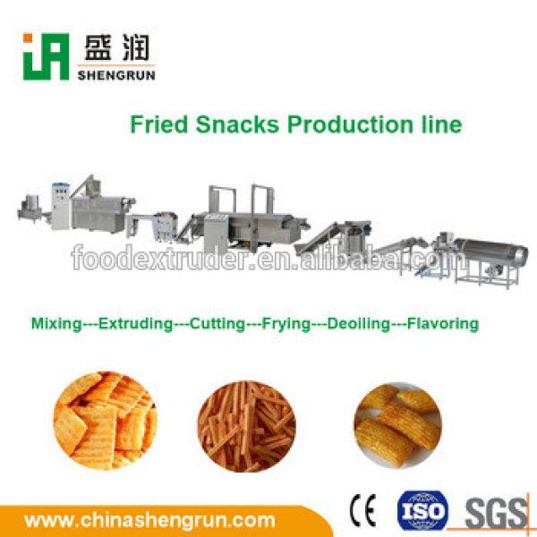 CE certificate spicy tasty sticks fried potato chips/ stick machine