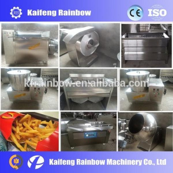 Semi-automatic potato chips machine price, best selling 30-50kg/h potato chips making machine