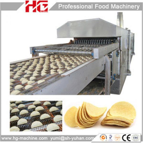 CE Approved Professional Auto Pringle Potato Chip Making Machine With Factory Price