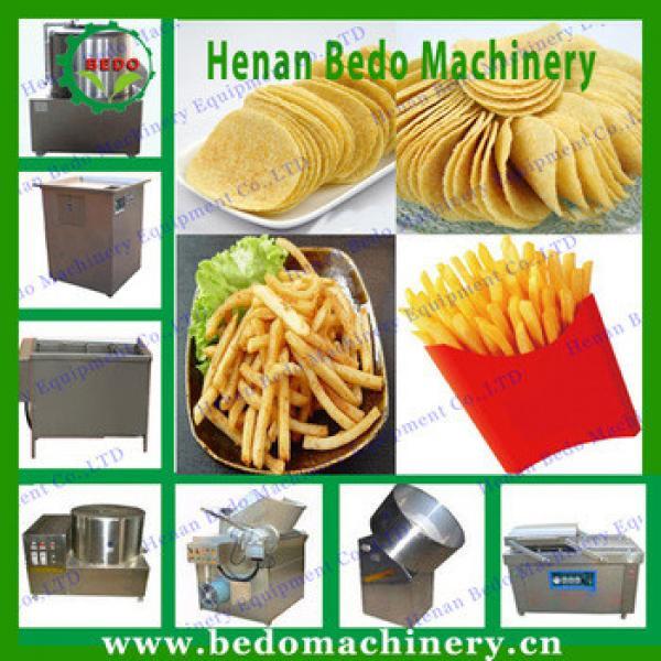 Small Potato Chips Making Machine French Fries Machinery