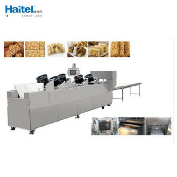 Small China Nutritional Snack Food Cereal Granola Bar Making Machine