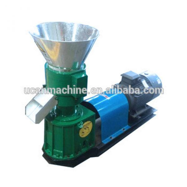 CE ISO Home Use Flat Die Animal Feed Pellet Mill/Small Scale Animal Feed Machine