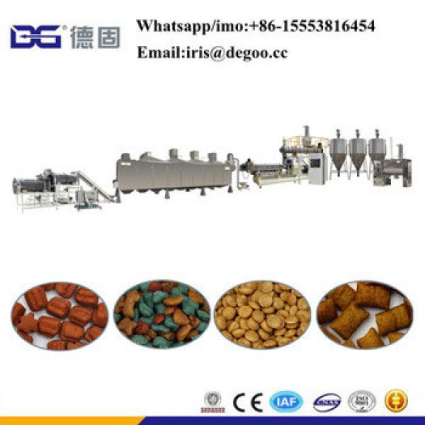 Fish cat dog pet food making machines pellet granule particle flakes chew food processing machines