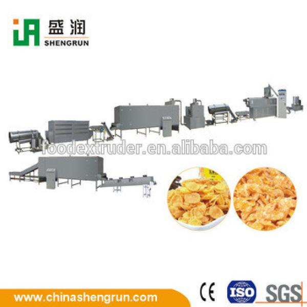 HOT Selling Corn Flakes Breakfast Cereal Processing Line Machine