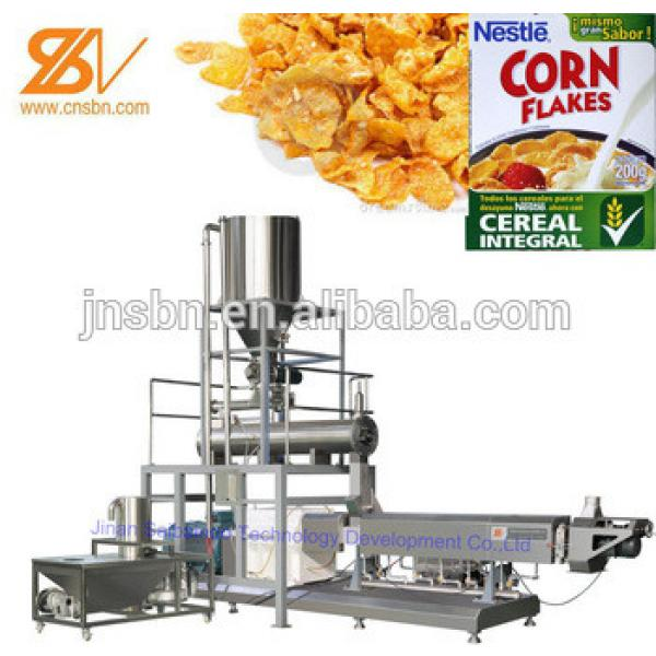 Automatic Industrial Breakfast Cereal Corn Flakes Making Machinery