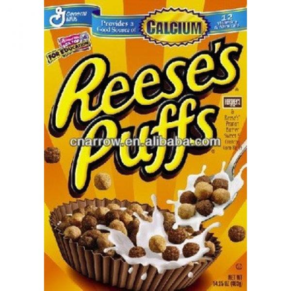 Reese's puffs breakfast cereals processing machinery making plant