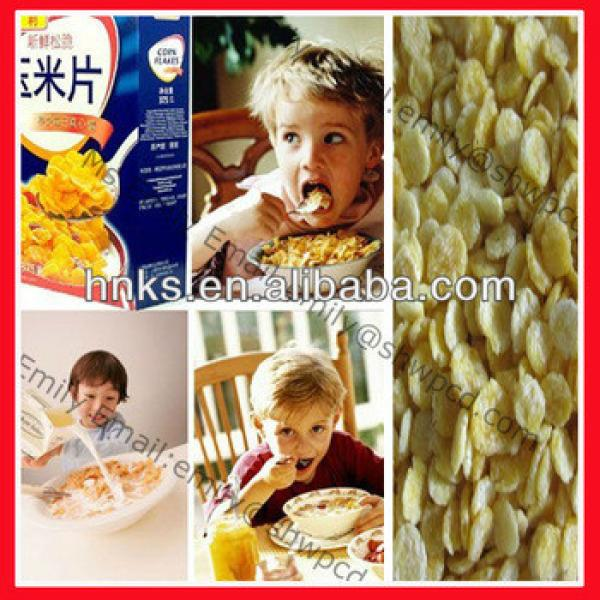 breakfast cereal corn flakes machine, corn flakes machine, corn flakes making machine