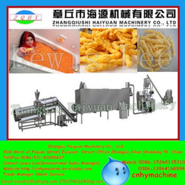 Haiyuan India kurkure food making machine