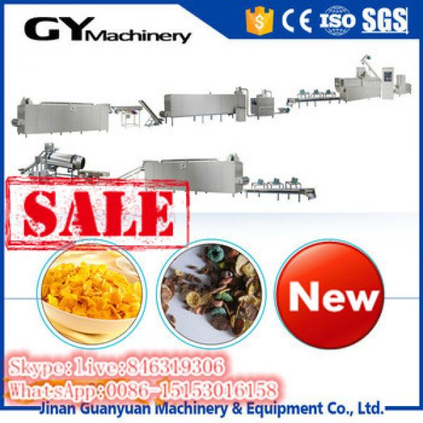 Automatic Frosted Breakfast Cereal Corn Flakes Makling Machine