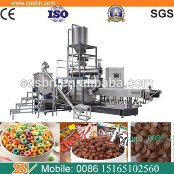 Coco pops breakfast cereal making machine