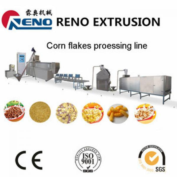 Breakfast cereal corn flakes making machine Production Plant