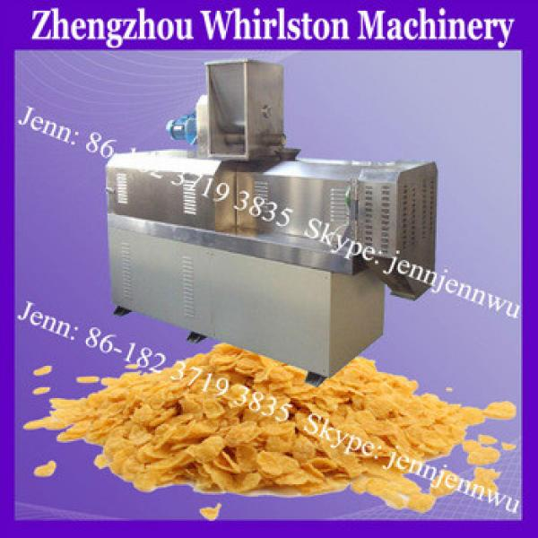 The widely used commercial cereal food processing machine for breakfast