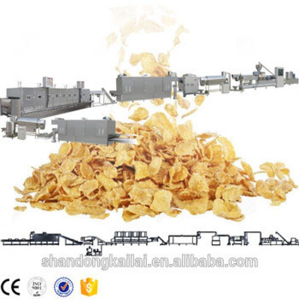 Automatic instant breakfast cereal bar production line and hot sale corn puff cereal making machine and leisure food machinery