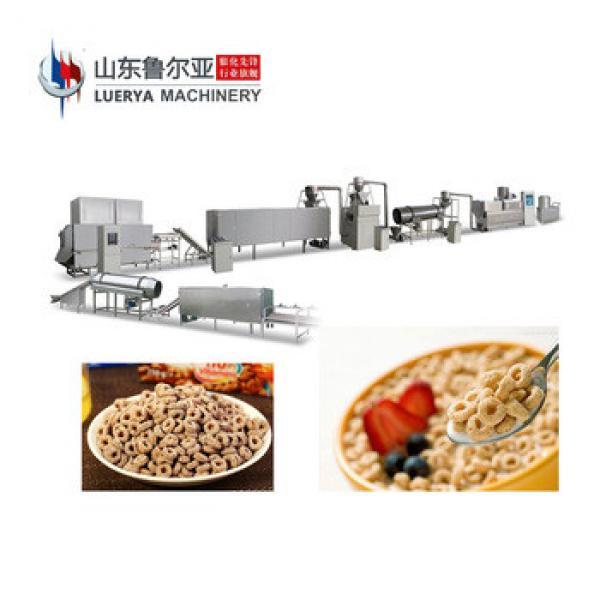 Made In China china automatic breakfast cereal corn flakes making machine best quality