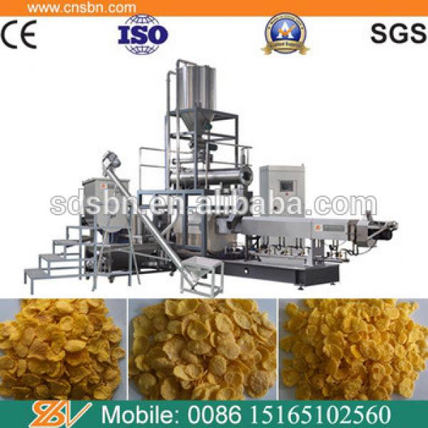 Automatic industrial kellogg's cornflakes breakfast cereal making machine