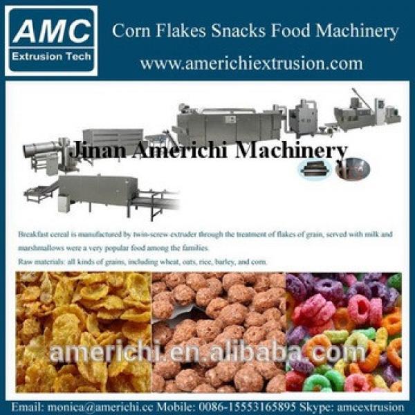 Kellogg breakfast cereal corn flake making machine