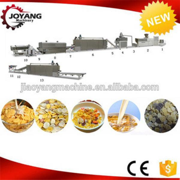 Automatic Puffed Snack Extrusion Breakfast Cereal Making Machine