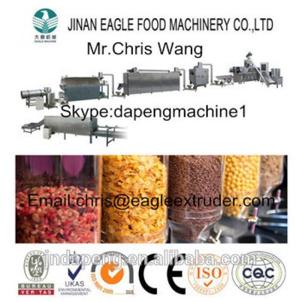 Good Quality Breakfast Cereal Making Machine in China Fruit Loops Coco Krispies Cruncheroos Honey Loops Machine