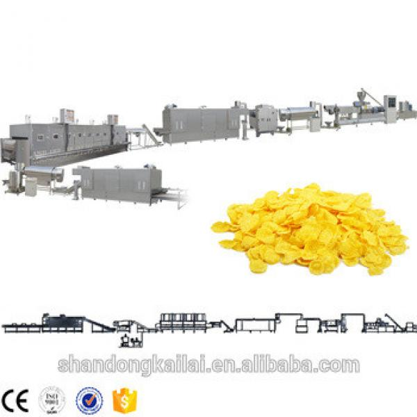 Top Quality Multifuntional Extruder Corn Maize Flakes Breakfast Cereals Machinery Machine