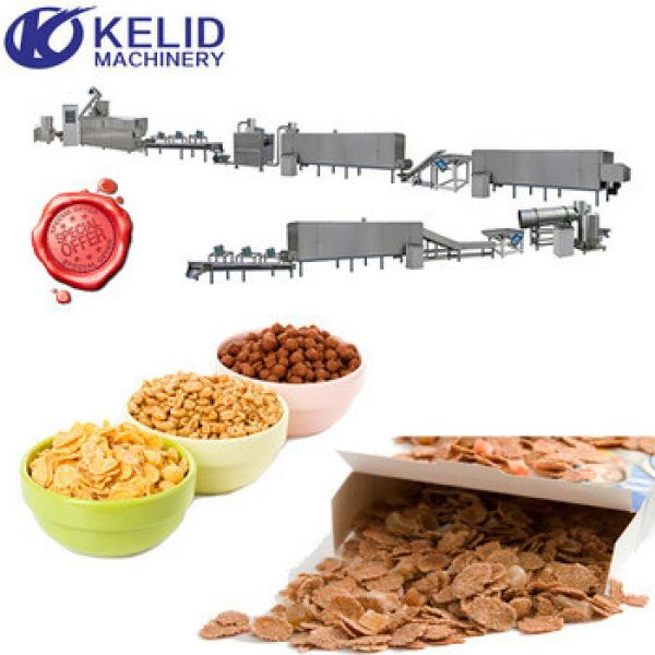 full automatic best price breakfast cereals snack food processing machine