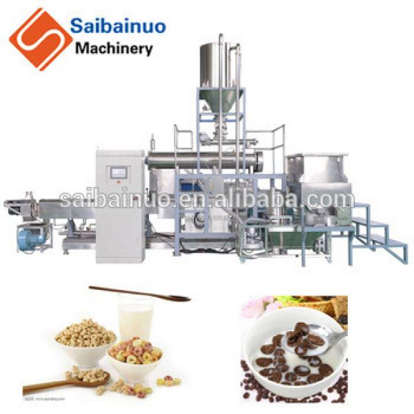 Economic and efficient automatic breakfast Cereals production line